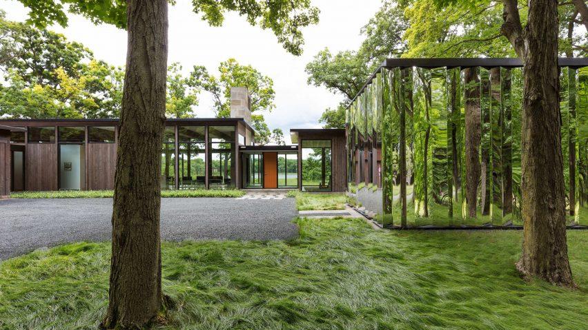 Современная зеркальная архитектура: 10 впечатляющих проектов (галерея 42, фото 2)