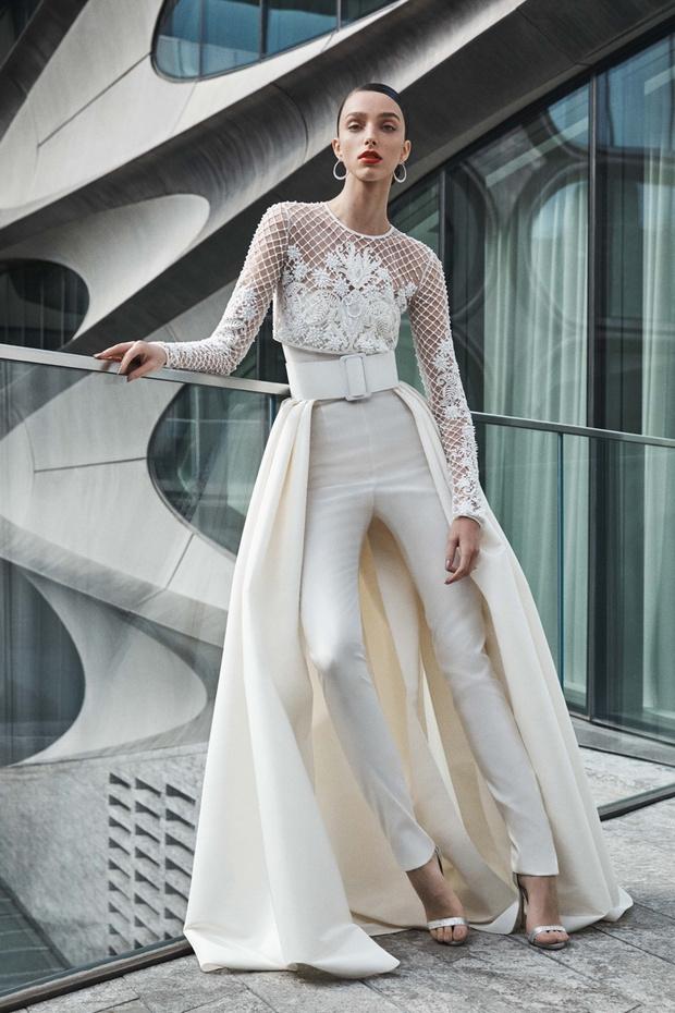 16 платьев из новой свадебной коллекции  Naeem Khan (фото 10)