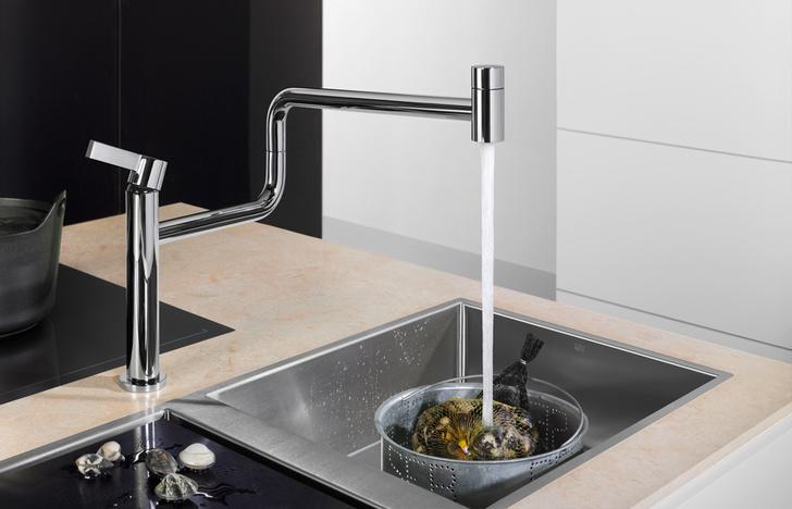 Кухонный смеситель Pivot