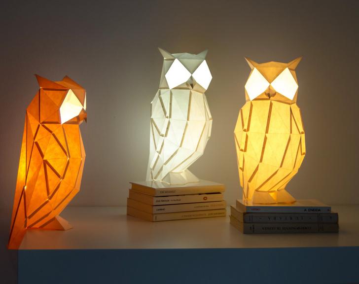 В мире животных: милые светильники OWL (фото 5)