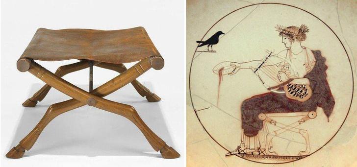 Х-файл: история мебели со скрещенными ножками фото [3]