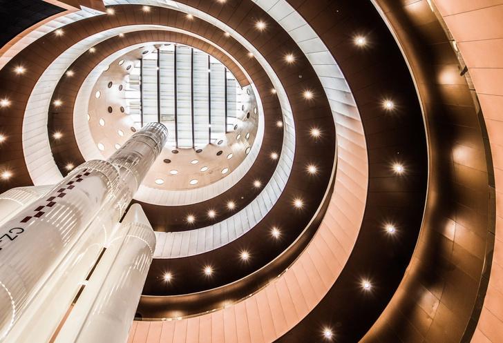 И медные трубы: новый музей по проекту Бернара Чуми в Китае (фото 4)