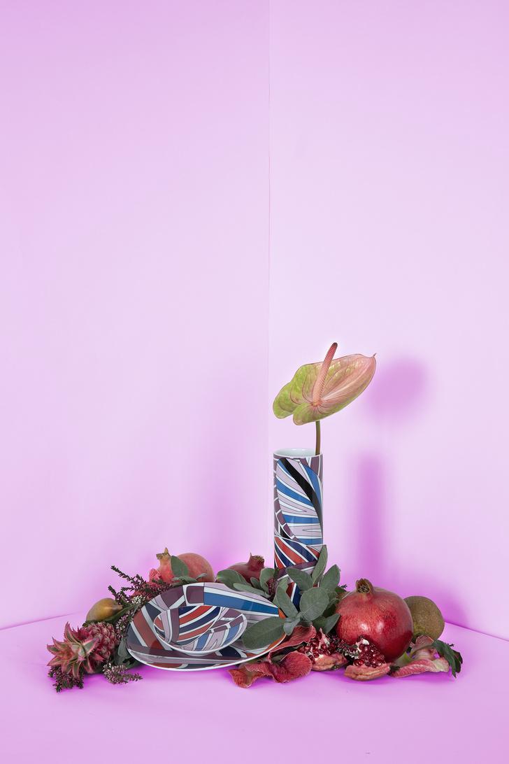 Emilio Pucci и Rosenthal переиздали архивные вазы (фото 2)