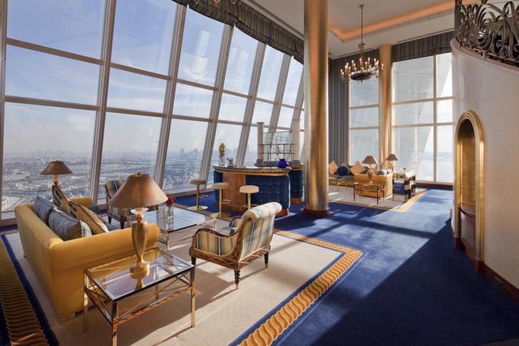 Burj Al Arab Самый лучший отель в Дубае фото