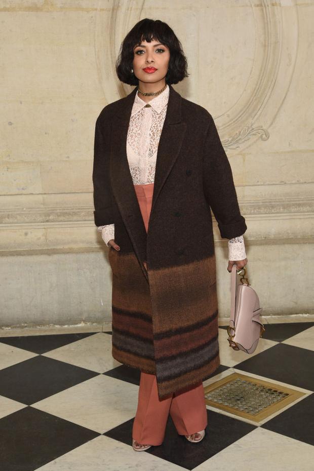 Дженифер Лоуренс, Карли Клосс и Кара Делевинь и другие на показе Dior (фото 5)