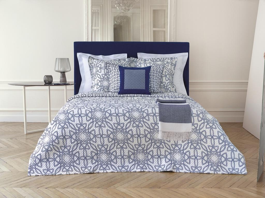 Цветущий вид: новая коллекция постельного белья Yves Delorme | галерея [1] фото [5]