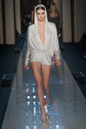 Показ Atelier Versace коллекции сезона Весна-лето 2014 года Haute couture - www.elle.ru - Подиум - фото 574002