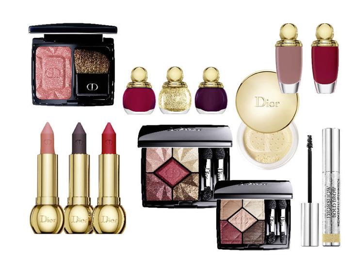 Dior Precious Rocks фото новогодняя коллекция