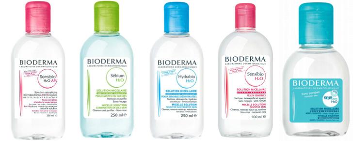 Мицелловые растворы Bioderma