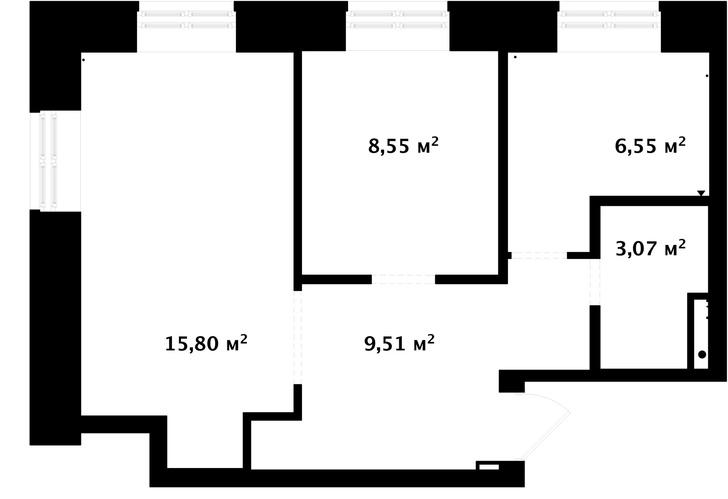 Первый план: все, что нужно знать о планировке маленьких квартир (фото 38)
