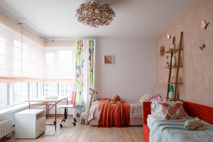 Минималистичная квартира в Петербурге для большой семьи (фото 22)