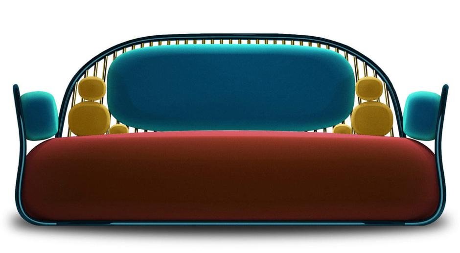 Искусство в массы: 10 нескучных диванов (фото 6)