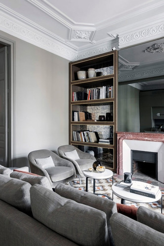 Современная квартира в доме Гауди в Барселоне (фото 6.1)