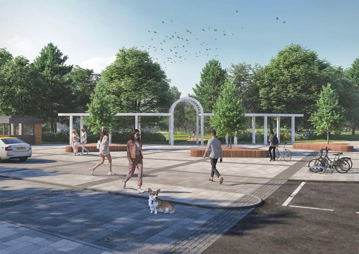 Компания Arteza разработала ландшафтную концепцию развития  общественных зон города Доброград (фото 4)