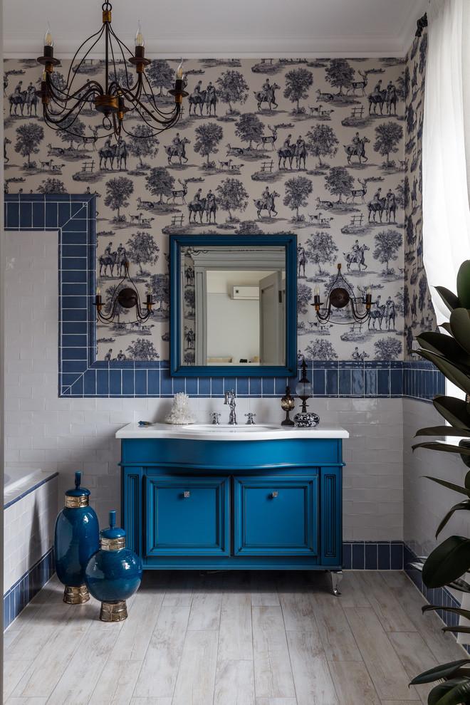 Синий цвет в интерьере: 30 проектов (галерея 0, фото 3)