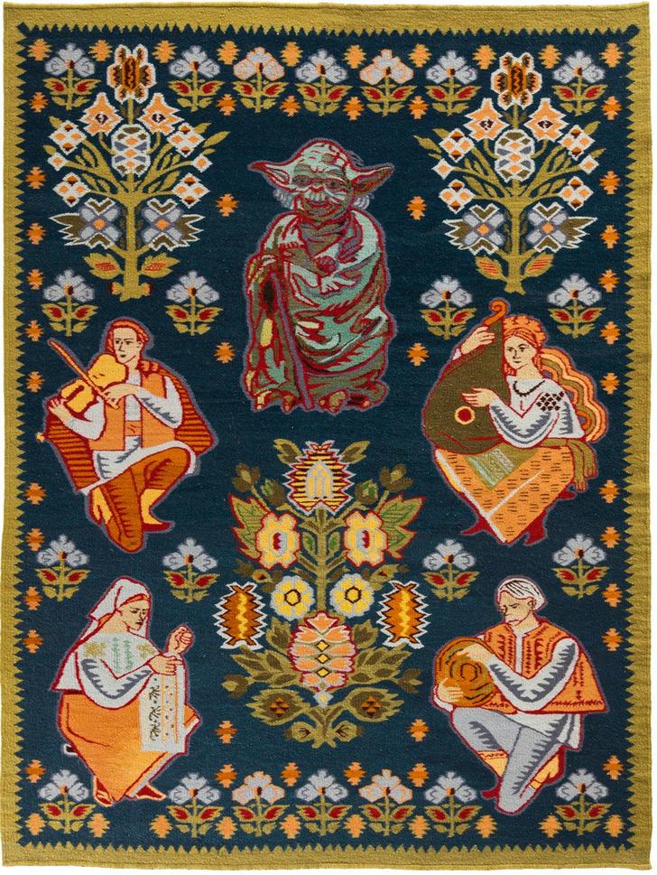 Украинские килимы и пикачу: художник Оксана Левченя (фото 9)