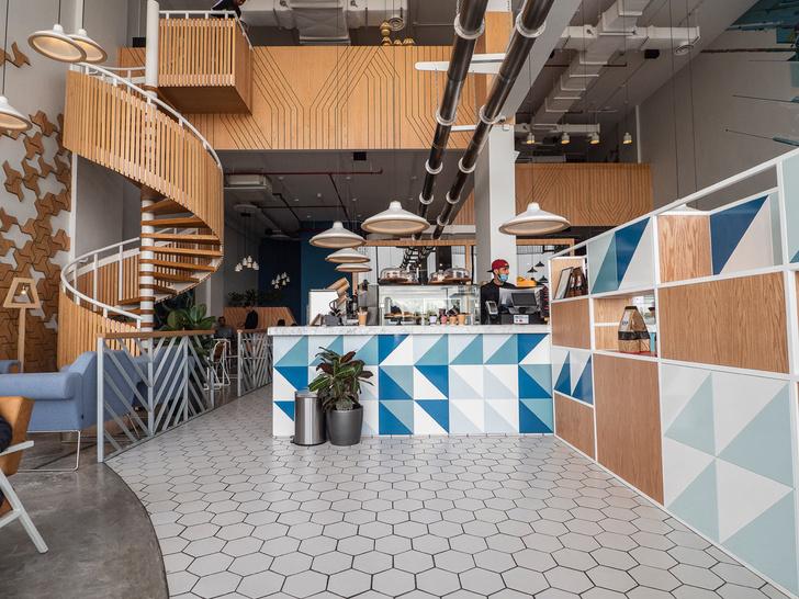 Кафе Liqui Design Completes its Third Brew92 Coffee Shop (фото 0)
