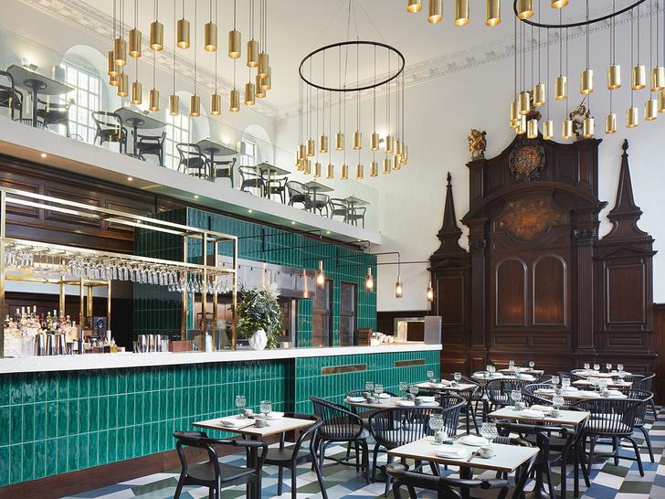 Лондонский ресторан в церкви по проекту Michaelis Boyd (фото 2)