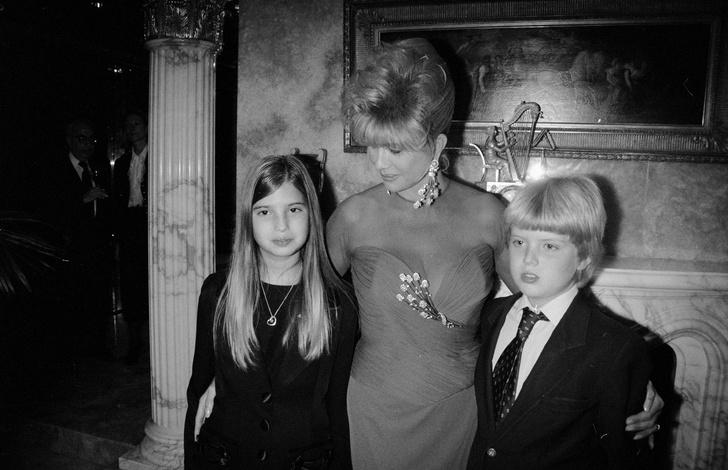 Иванка, Ивана и Дональд-младший Трамп