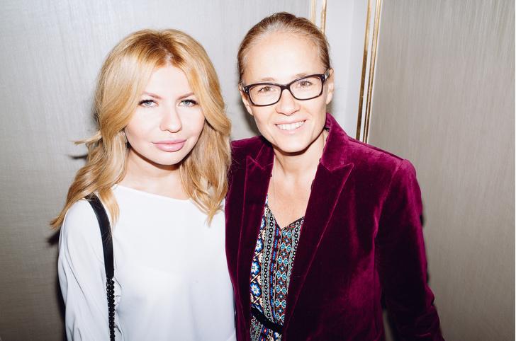Надежда Стрелец (ELLE) и Екатерина Ставенкова (Coty)
