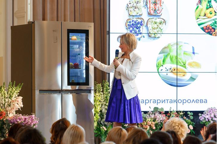В ГУМе прошел мастер-класс по здоровому питанию (фото 1)