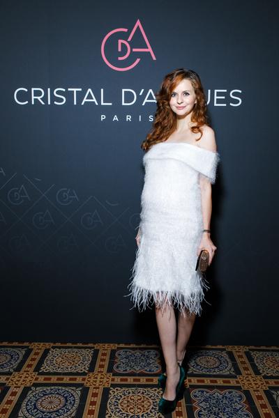 Звезды на торжественном приеме Сristal d'Arques Paris | галерея [1] фото [6]