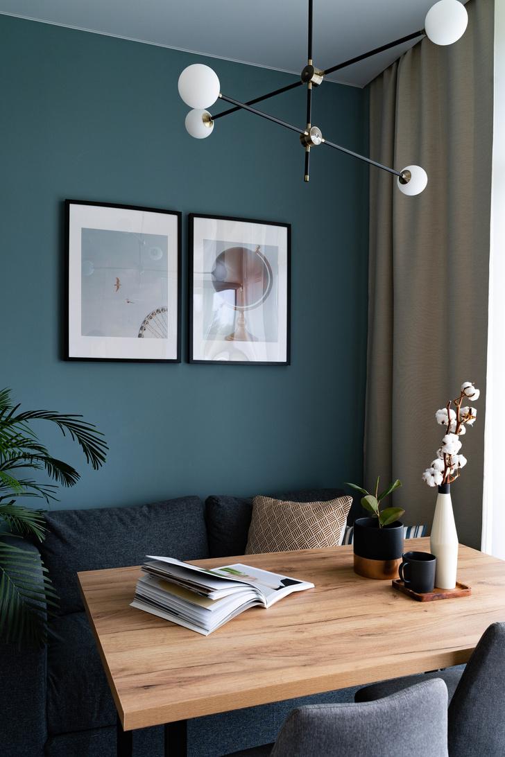 Квартира 38 м² для молодого заказчика: проект студии «1+1» (фото 10)
