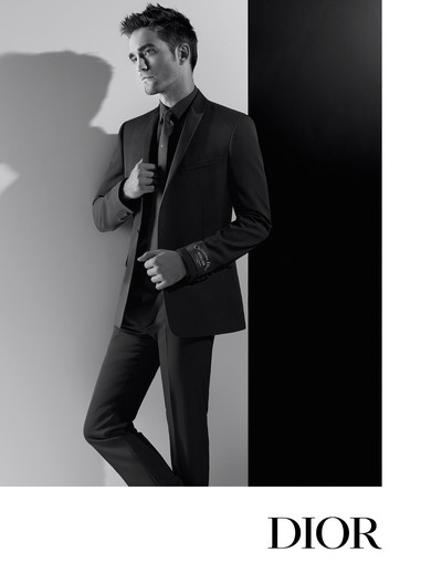 Роберт Паттинсон в рекламной кампании Dior Homme (галерея 1, фото 4)