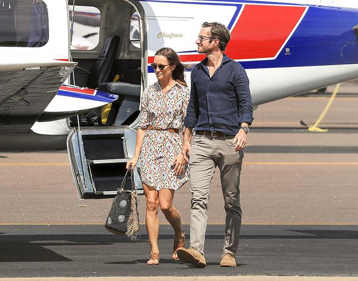 Пиппа Миддлтон наслаждается медовым месяцем с мужем