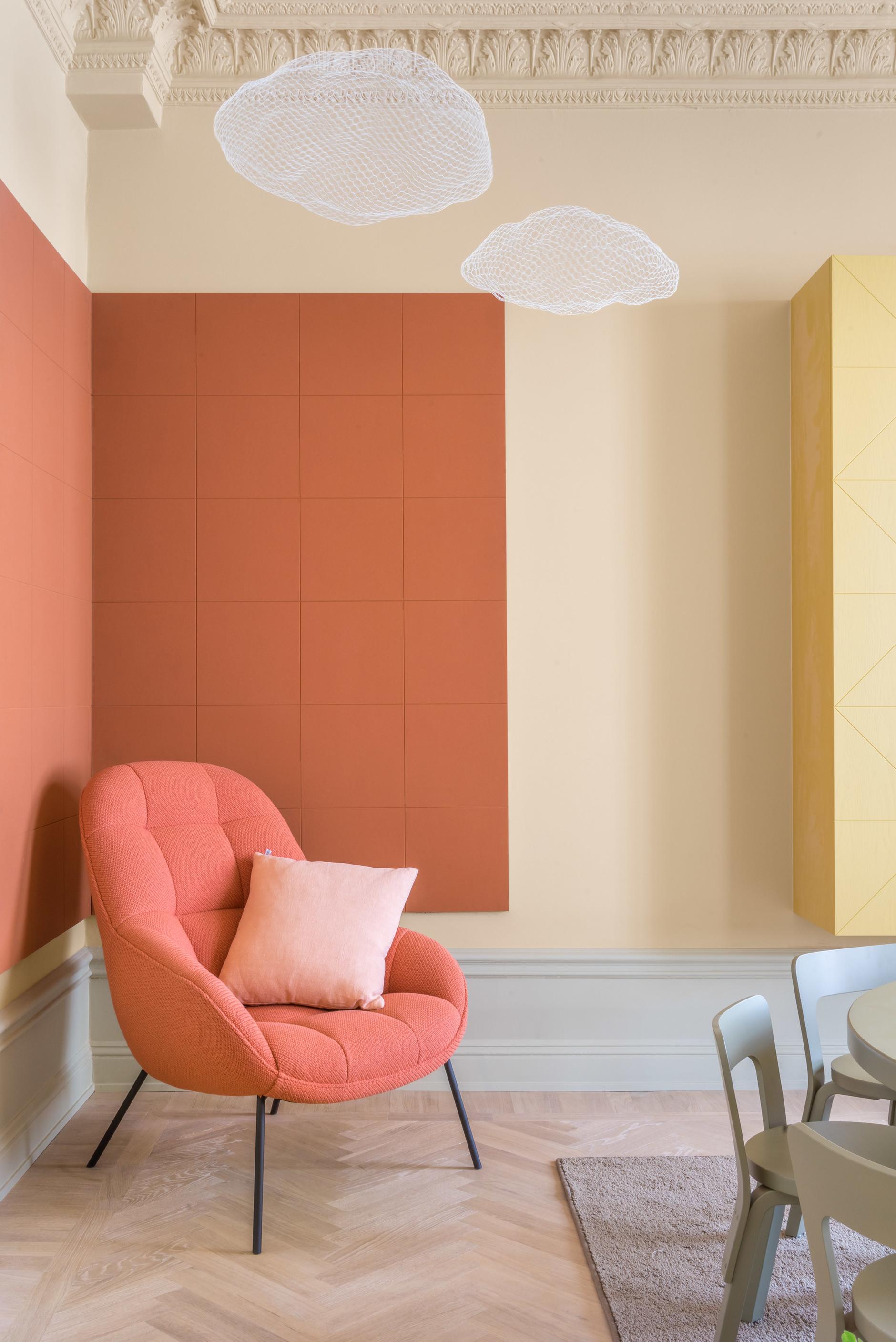 Коралловый цвет в интерьере: 20 ярких идей (галерея 0, фото 2)