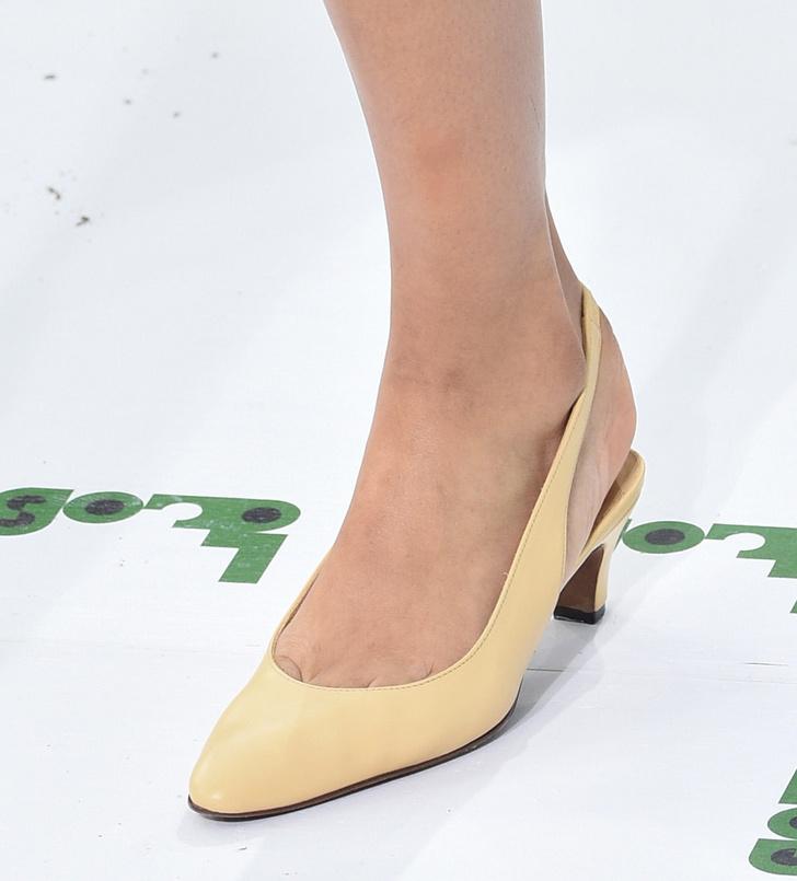 Обувь на Неделе моды в Париже, которую вы будете носить весной фото [10]