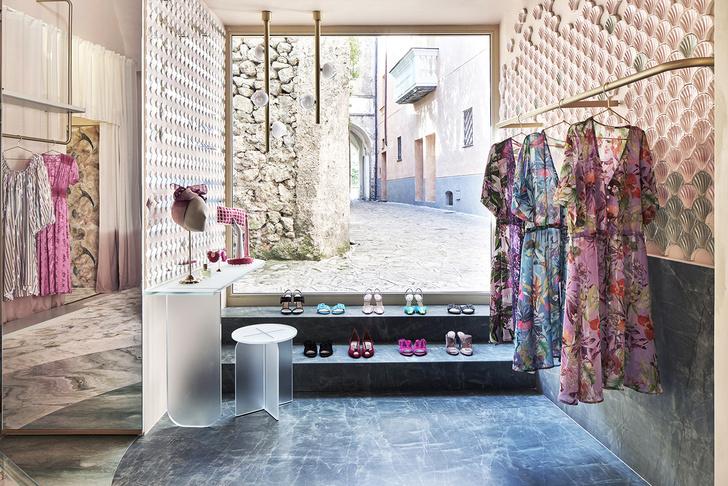 Нежно-розовый бутик по дизайну Кристины Челестино (фото 9)