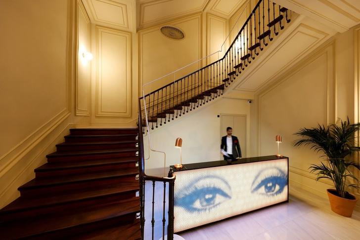 Отель с нетрадиционной ориентацией в Мадриде (фото 5)
