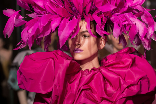 Покорила Париж: Кайя Гербер на показе Valentino (фото 3)