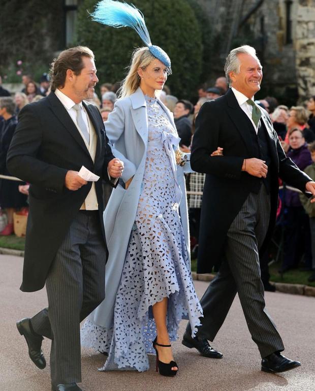 Свадьба принцессы Евгении: как ее увидели гости (фото 14)
