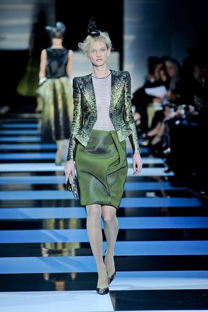 Показ Giorgio Armani Privé коллекции сезона Весна-лето 2012 года Haute couture - www.elle.ru - Подиум - фото 331472
