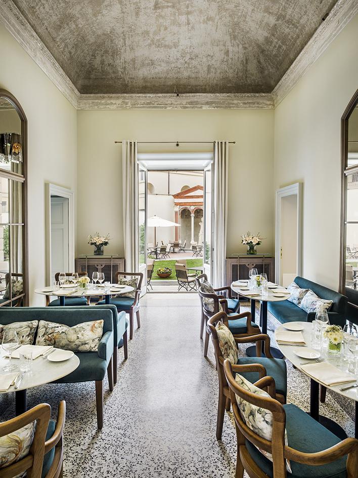 Миланский ресторан в двухсотлетней вилле (фото 2)