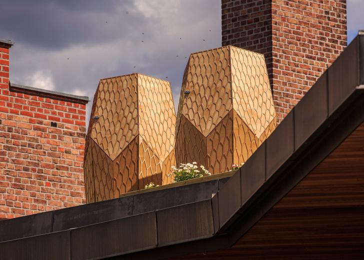 Дизайнерские ульи и домики для насекомых (фото 31)
