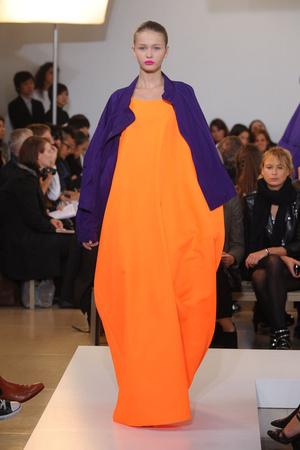 Показы мод Jil Sander Весна-лето 2011 | Подиум на ELLE - Подиум - фото 2546