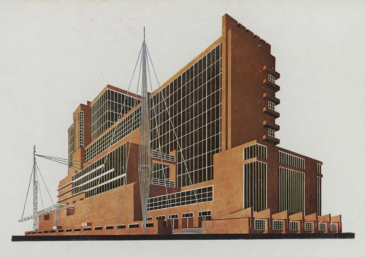 В Музее архитектуры открывается выставка «Яков Чернихов. Образы архитектуры» | галерея [1] фото [2]