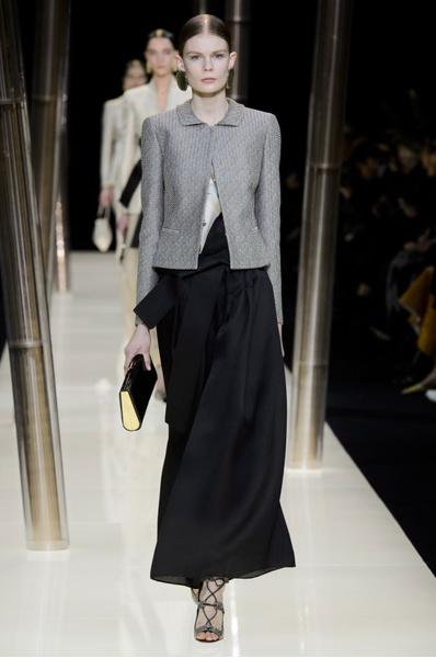 На Неделе высокой моды в Париже прошел юбилейный показ Giorgio Armani Prive | галерея [1] фото [33]