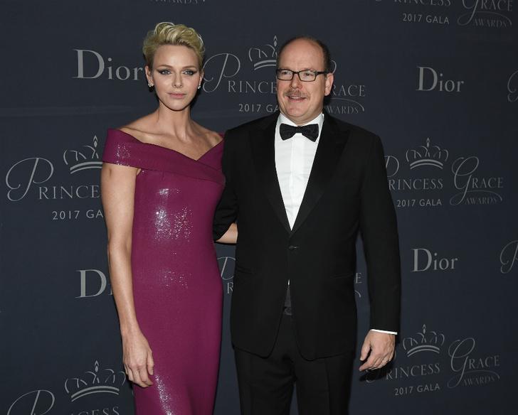 Князь Альбер и княгиня Шарлен на Princess Grace Awards в Лос-Анджелесе фото [2]