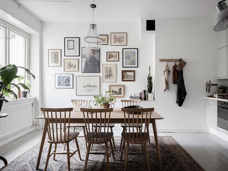 Скандинавский минимализм: квартира в Гетеборге (фото 17)