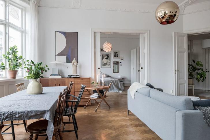 Образцовая скандинавская квартира 140 м² (фото 5)