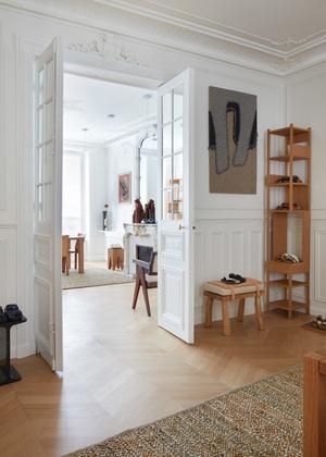 Шоурум Birkenstock 1774 в парижской квартире (фото 7.1)