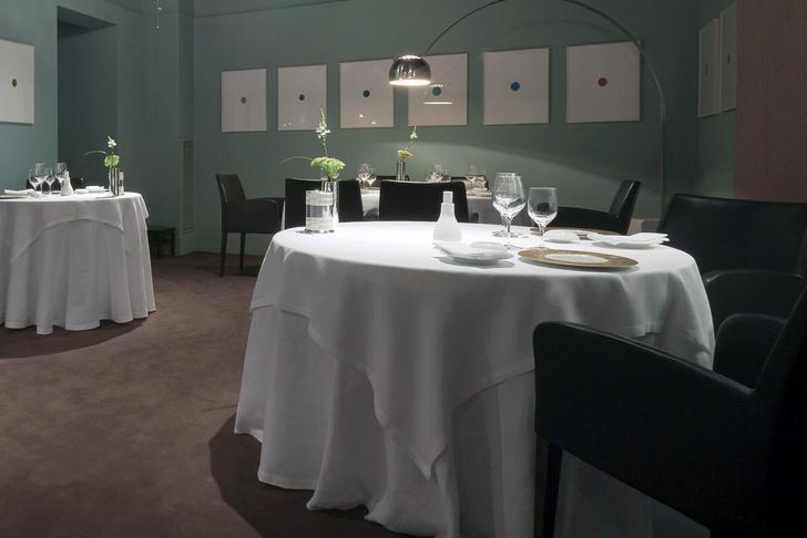 Ресторан Osteria Francescana Michelin интерьер
