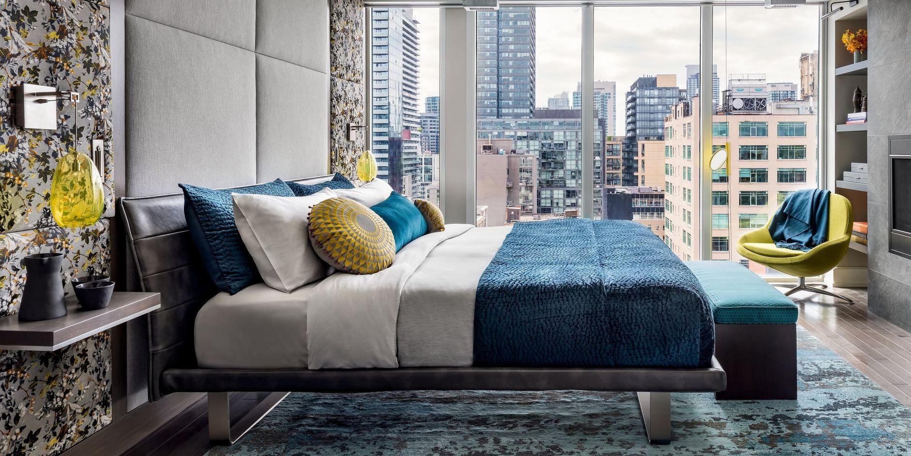 Низкая кровать: 30+ примеров для спальни (галерея 2, фото 3)