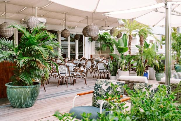 Отель Nautilus с коворкингом и барбершопом в Майами (фото 9)