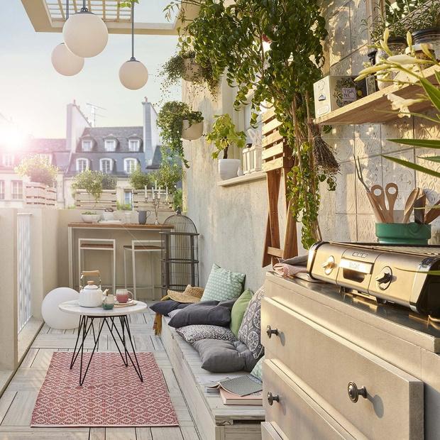 15 идей для уютного балкона (фото 0)