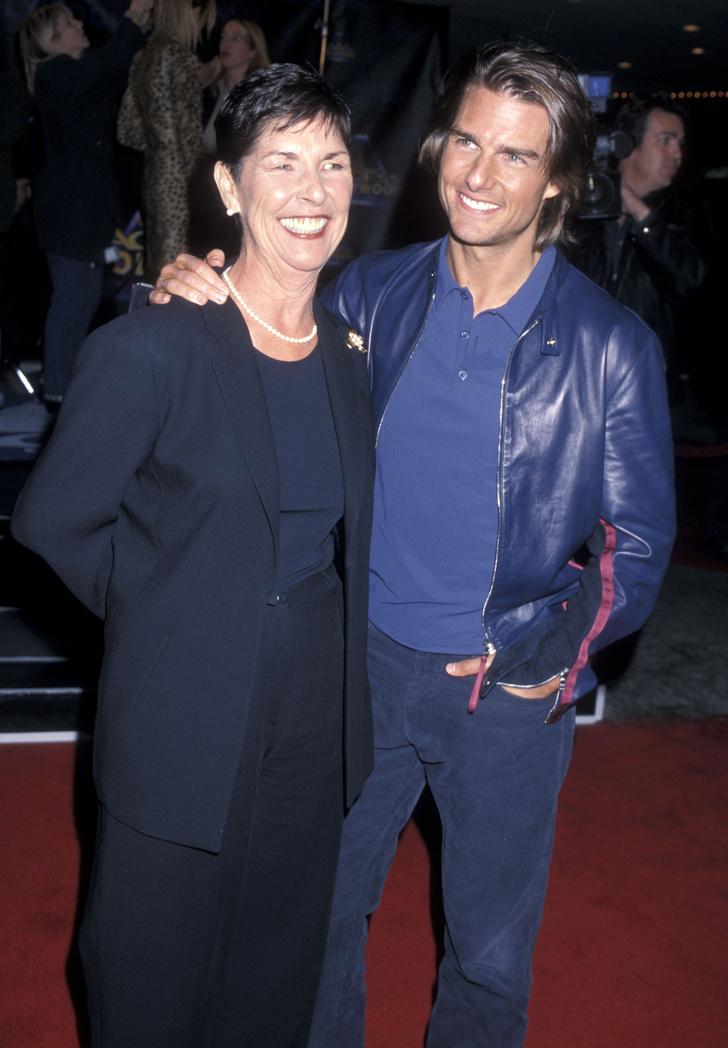 Том Круз с матерью